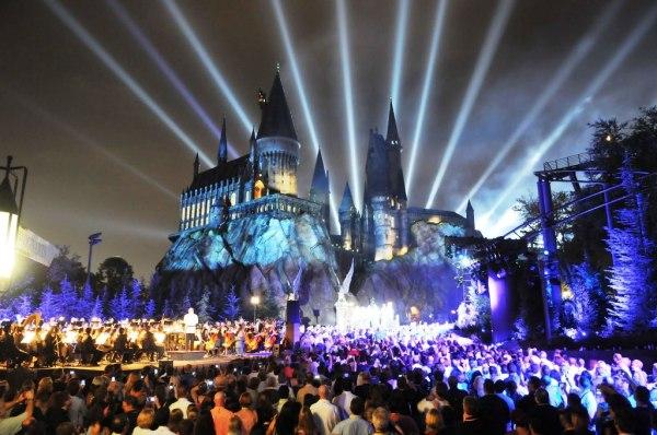 Castillo de Hogwarts en Disneylandia