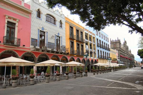 Camina por los corredores de Puebla