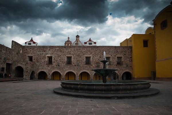 Atrio de la Iglesia de San Francisco en San Luis Potosí